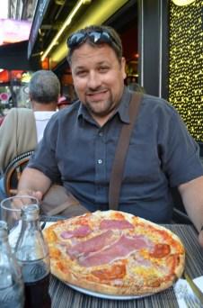 Pizza in Paris lol