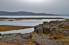 volcanic rocks at Þingvellir national park,