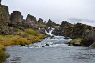 """Oxararfoss (meaning """"Axe Falls"""")"""