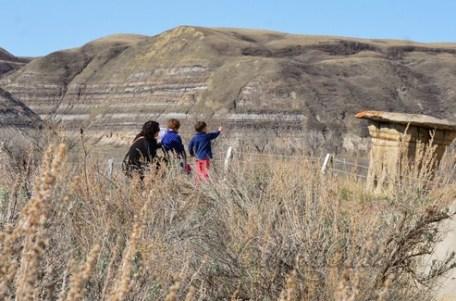 Hoodoos in Drumheller, Alberta
