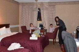 First night in Edmunston