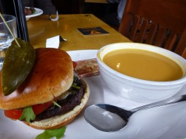 Lunch at The Grizzly Paw Brewing Company