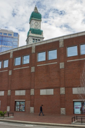 Custom House tower in Boston