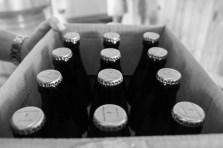 Case of beer bottles from Maine Beer Company
