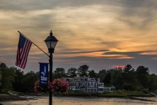 Sunset in Kennebunkport ME