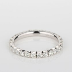 Small Crop Of Diamond Eternity Band