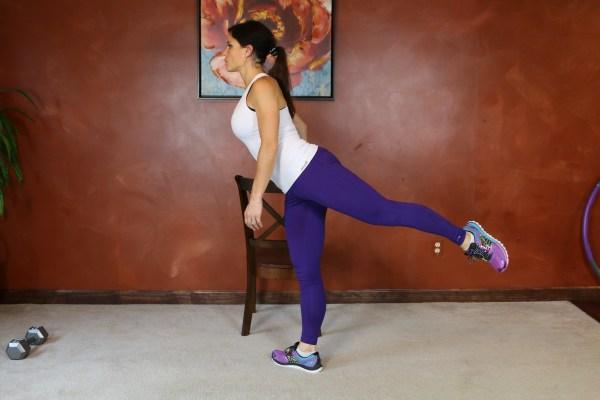 Standing Leg Circle: Part 3