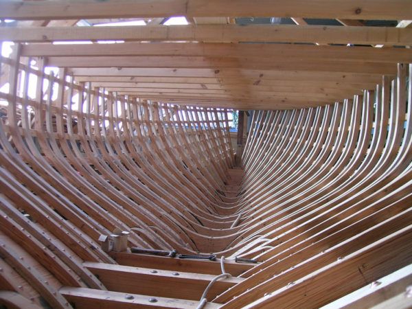 Alva Hull Build  - Ben Harris Boats - Classic Yacht Boatbuilding