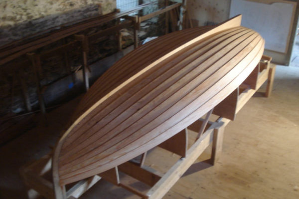 International Twelve Wooden Sailing Dingy - Ben Harris Boats