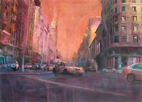 Christopher St Leger anbar drag painting new york