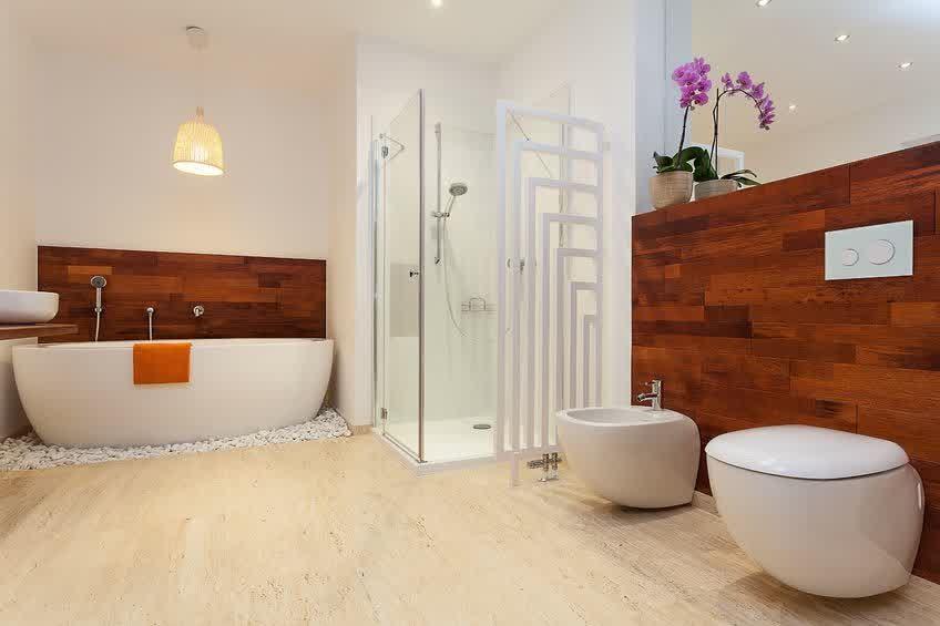cabine de douche : revêtement pvc, une alternative au carrelage ... - Revetement Mural Salle De Bain Pvc