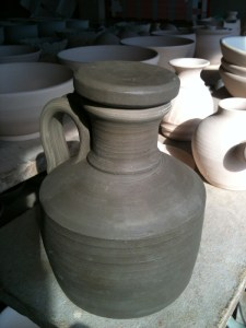 Burton-in-Lonsdale pottery screw mould