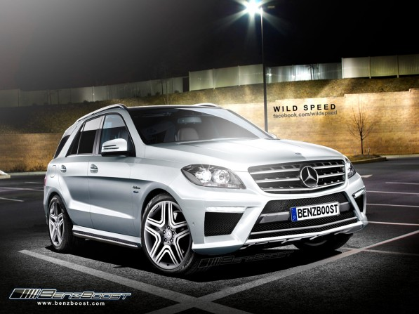 ml63amgbb2 1 597x447 ML63 AMG Rendering Unveiled