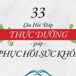 33 cau hoi dap thuc duong 2016