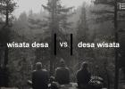 Apa Beda Desa Wisata dan Wisata Desa
