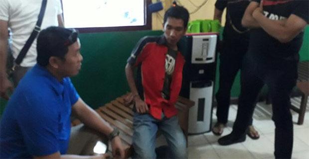 Toni Pria Yang Mengatakan Polisi Halal di Bunuh Kini Telah Diamankan