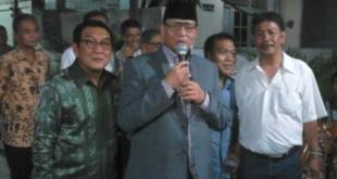WH Saat Halal bi Halal di Kediaman Ketua DPC Demokrat Tangsel (Foto : Bambang Tejo)