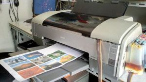 Printer Photo Epson 1390 A3 bekas
