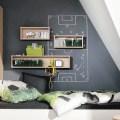 Schwarze Tafelfarbe und Kojenbett