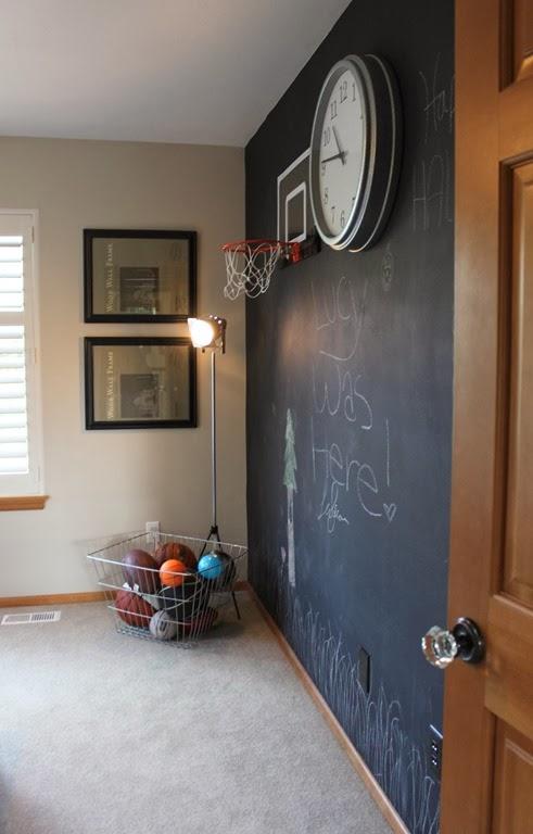 Tafelfarbe im jugendzimmer definitiv eine coole idee for Jugendzimmer uhr