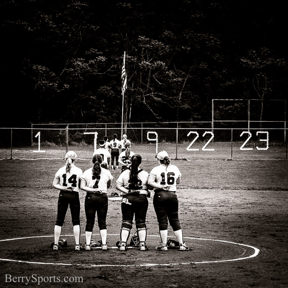 May  20, 2016.   MCHS Varsity Softball vs Central Woodstock.  Madison wins 3-2 and will be the number one seed in next week's Conference 35 tournament.