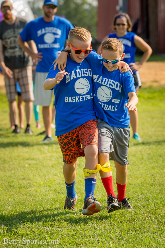 August  20, 2016.   Madison Parks and Rec Family Field Day 2016, at Hoover Ridge Park
