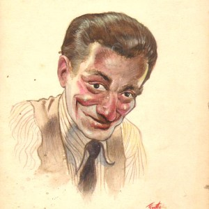 Frank Frazetta � Falanga 1940s VERY EARLY painting Comic Art