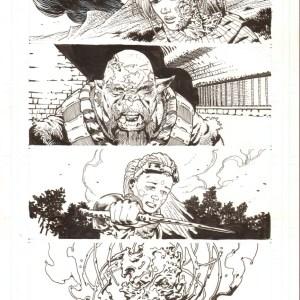 Andrei Bressan � Birthright 6p1 Comic Art