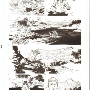 Andrei Bressan � Birthright 6p11 Comic Art