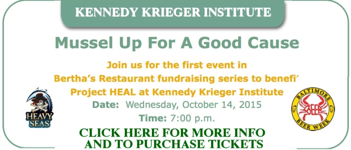 Mussel Up For A Good Cause - Benefits Kennedy Krieger Institute