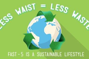 less waist less waste