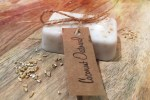 Homemade Coconut Oatmeal Soap 3