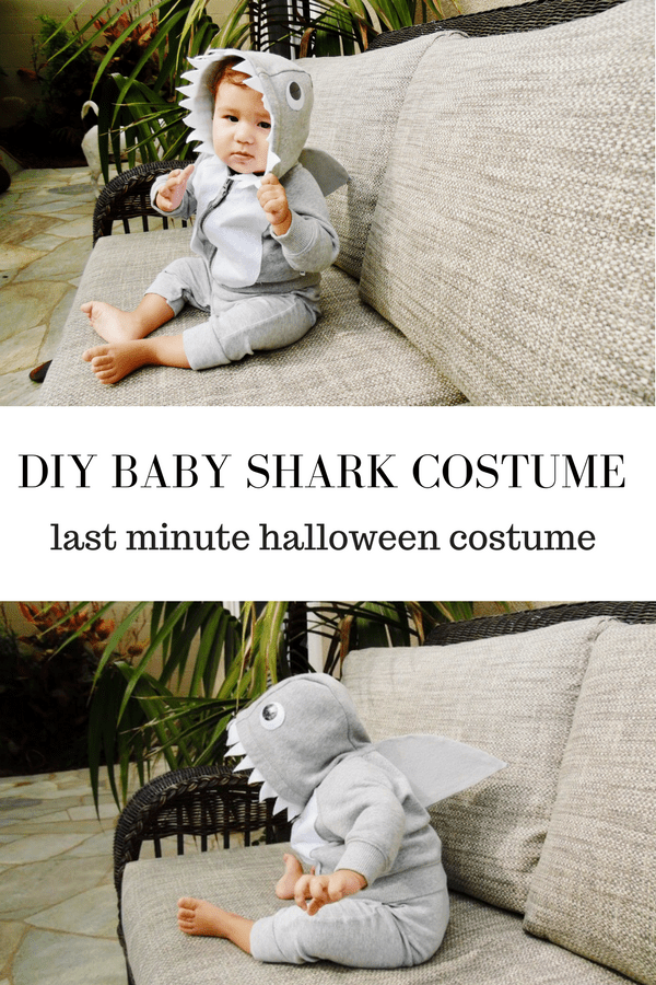 how to make a baby shark costume