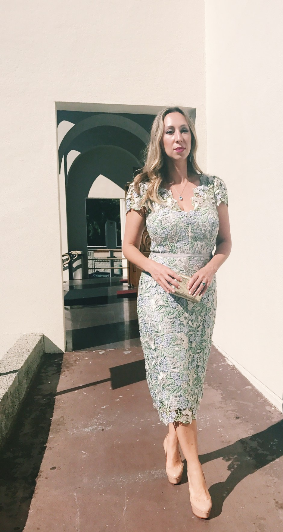 rent the runway spring wedding guest dress