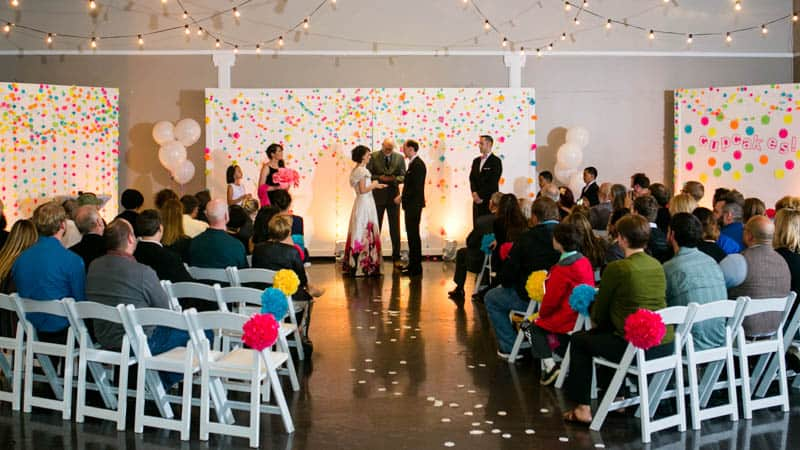 COLOURFUL SCIENCE THEMED WEDDING IN URBAN PORTLAND (16)