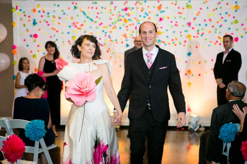 COLOURFUL SCIENCE THEMED WEDDING IN URBAN PORTLAND (17)