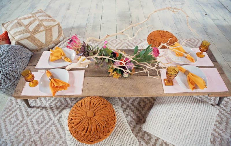 turn traditional bridal shower head with these funky ideas
