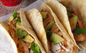 Easy Chipotle Orange Chicken Tacos