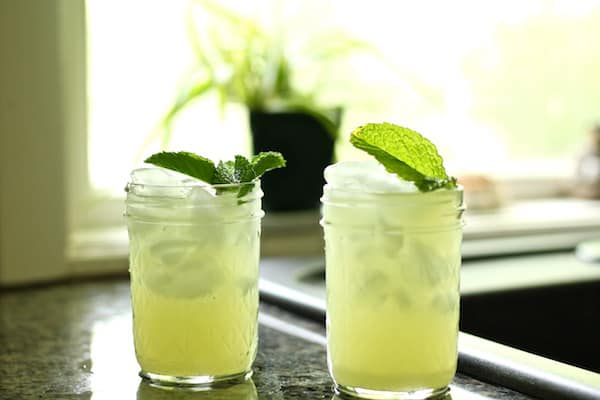 Cucumber rosewater mocktail is a light and refreshing summer drink!