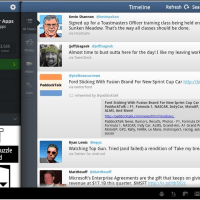 Twitter Application for Android Tablet