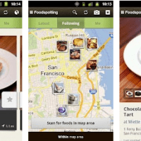 Foodspotting Android Application