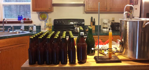 White House Honey Ale Bottling
