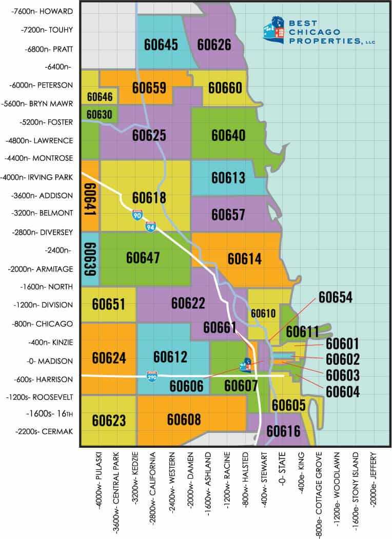 map search by zip code