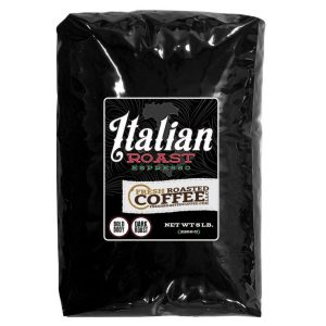 Italian Roast Espresso Blend, Whole Bean Coffee, Fresh Roasted Coffee LLC.