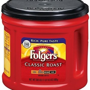 Folgers Classic Roast Ground Coffee, Medium Roast, 30.5 Ounce
