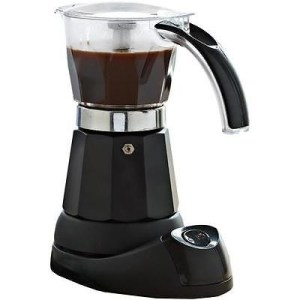 IMUSA B120-60006 6 Cup Electric Moka Espresso Maker