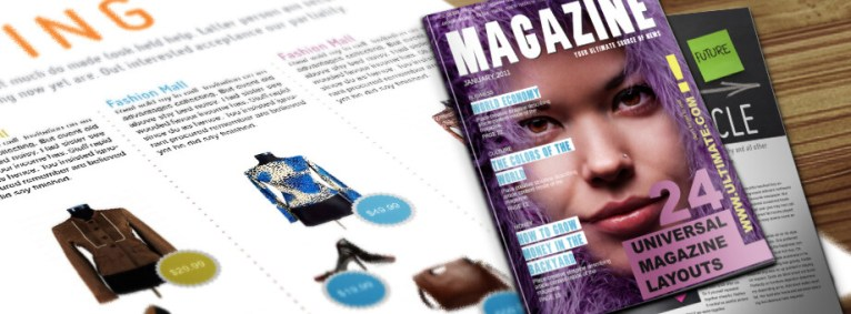 Universal InDesign Magazine Template