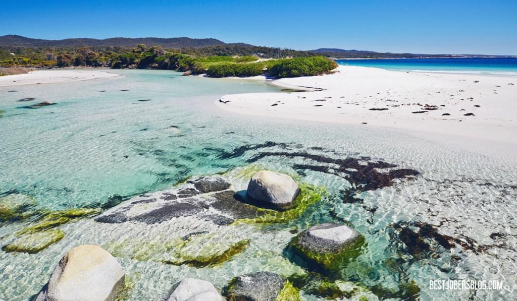 Binalong bay Tasmanie