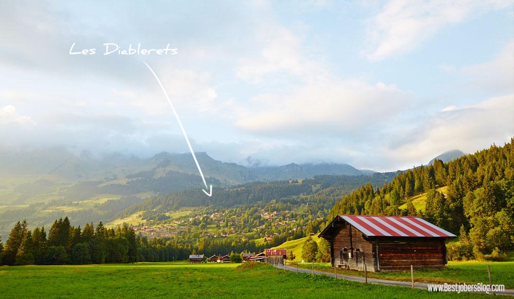 Les Diablerets Suisse