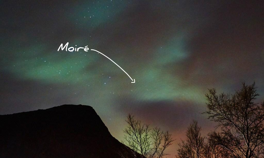 filtre aurore boreale